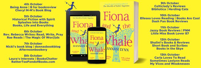 Fiona and the Whale Full Tour Banner